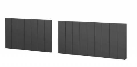 Split Gloss Anthracite Bath Panels